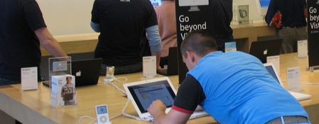 Apple Store Try Before You Buy