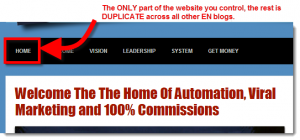 Empower Network Duplicate Content