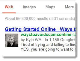 Getting First Page Rankings In Google