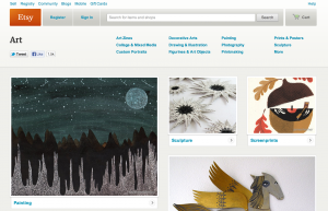Sell Art Online With Etsy