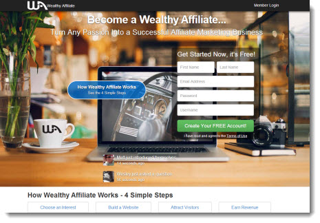 Wealthy Affiliate - Affiliate Marketing Training