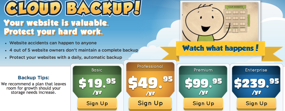 Hostgator Cloud Backup
