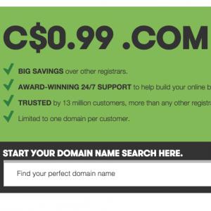 99 cent domains